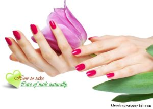 how to take care of hands and nails at home