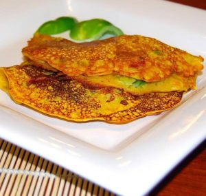 indian vegetable omelette recipe