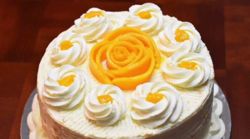 mango cake with egg recipe