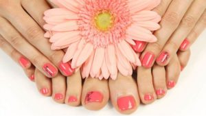 Manicure and Pedicure at home