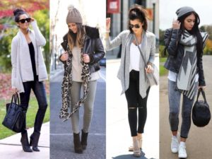 how to dress in winter female