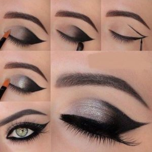 How do you do smokey eye makeup?