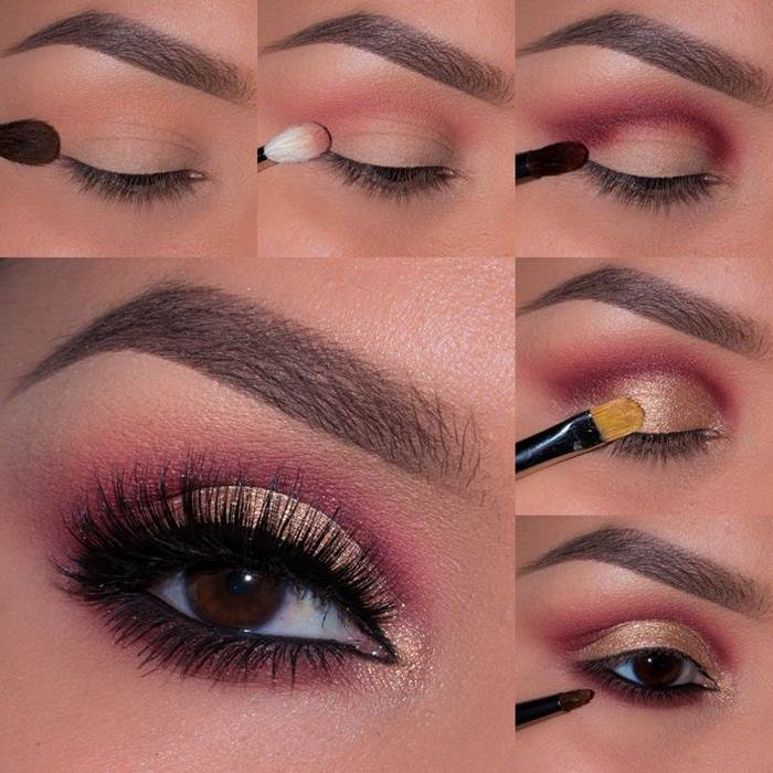 eye makeup step by step with pictures khoobsurat world