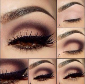 How do you properly apply eyeshadow?
