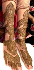 dulhan makeup in hindi