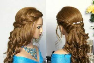 indian dulhan hair style step by step