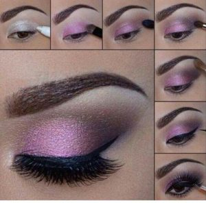 eyeshadow tutorial brown eyes