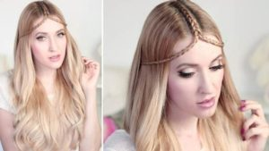 party hair style step by step
