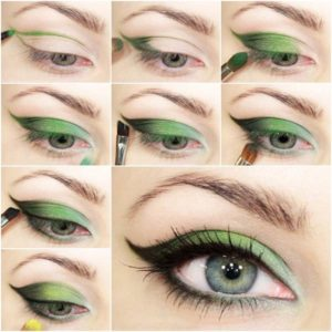 eyeshadow step by step tutorial