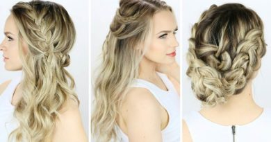 Beautiful Girl Hair Style for Party Night