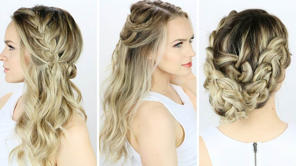 Beautiful Girl Hair Style For Party
