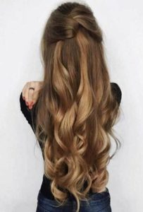 beautiful simple hair style