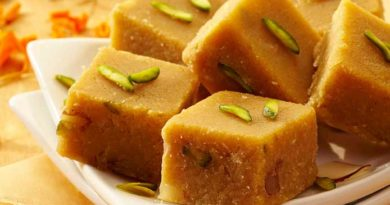 Chana Dal Barfi Recipe In Hindi