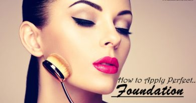 how to apply perfect foundation