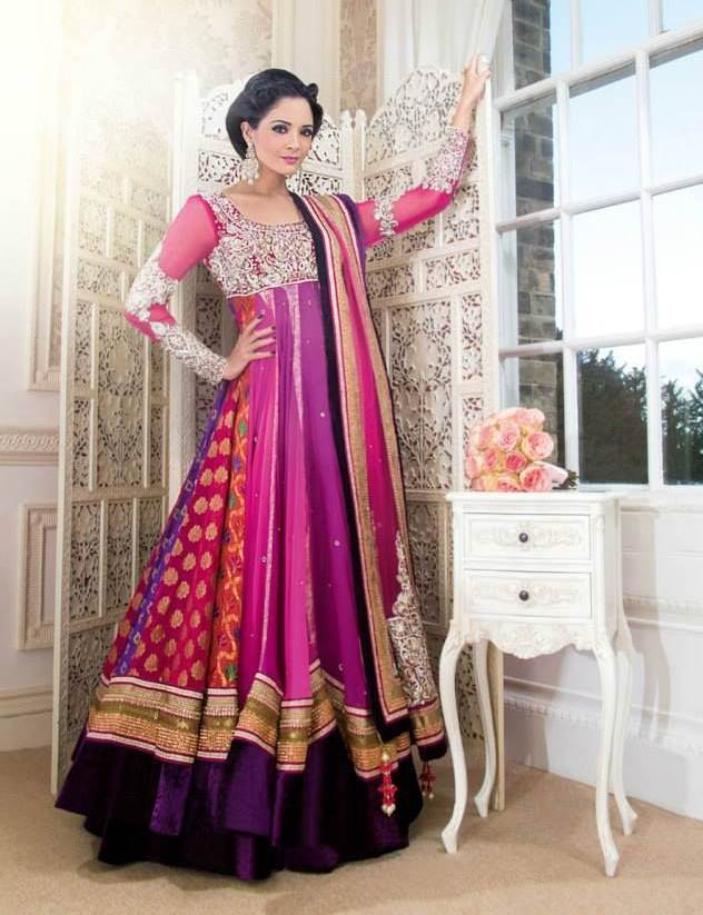 Latest-Collection-of-Umbrella-Dresses-Frocks-Designs-2015-2016-25
