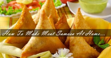 How To Make Meat Samosa At Home