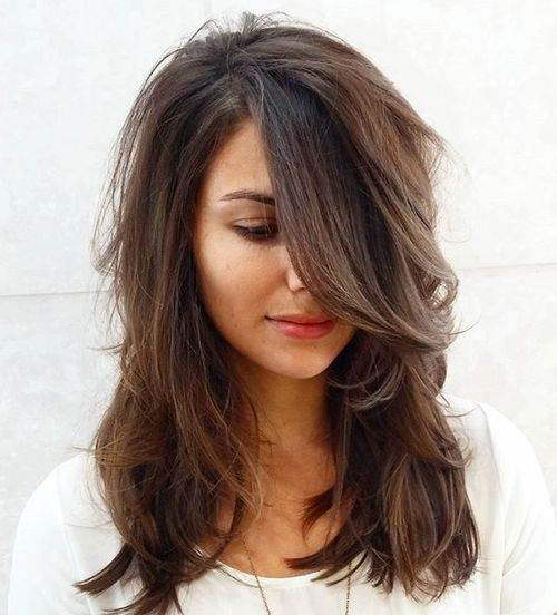 medium long length haircuts