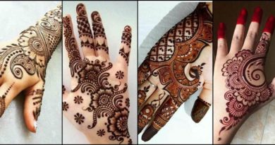 15 best Latest Arabic Mehndi Designs For Bridal Collection