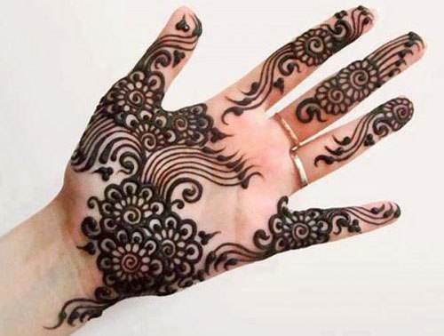 Easy and simple mehandi