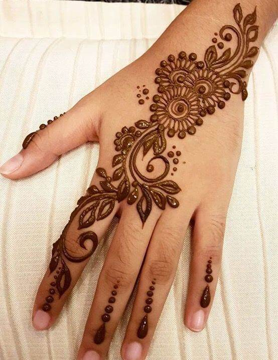 15 Best Latest Arabic Mehndi Designs For Bridal Collection | Khoobsurat World