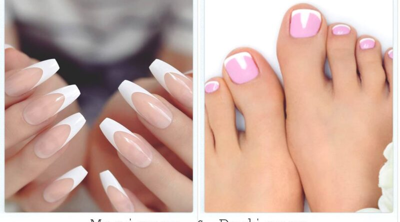 Manicure and Pedicure At Home in Hindi
