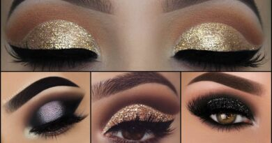 Beautiful Glitter Eye Makeup Kaise Karte Hai