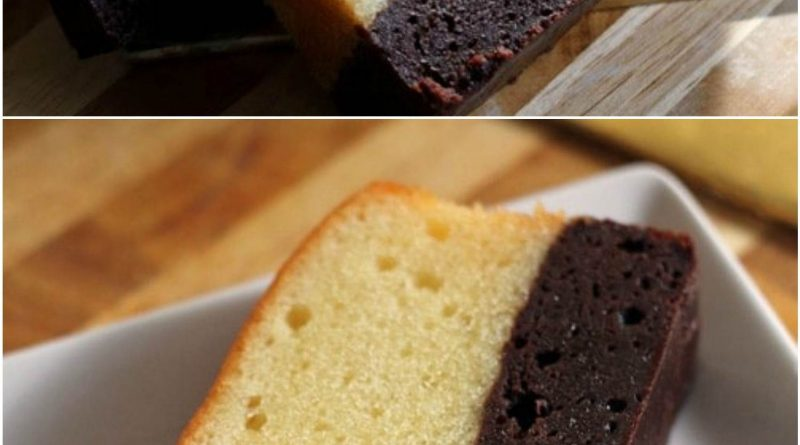 Brownie Butter Cake Recipe