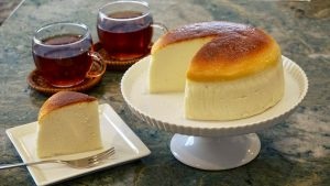 The Best Japanese Souffle Cheesecake