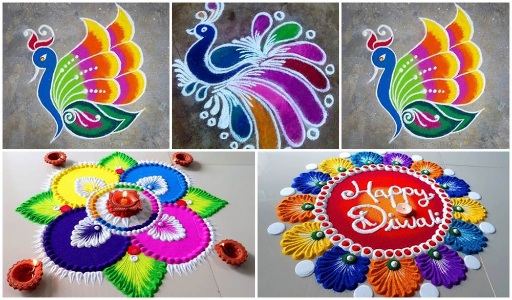 Diwali 2020 Rangoli Designs Latest